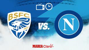 Brescia vs Napoli: Horario y dónde ver en vivo