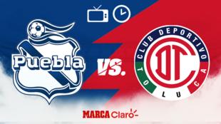 Puebla vs Toluca, horario y dónde ver.