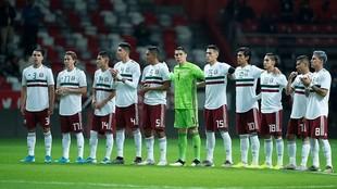 México se encuentra clasificado a la fase final de la Liga de las...