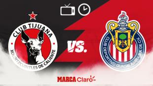 Tijuana vs Chivas; Horario y dónde ver