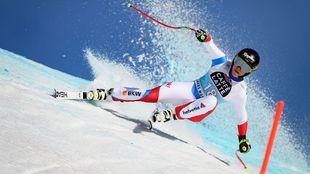 Lara Gut se ha reencontrado con la victoria en el primer descenso de...
