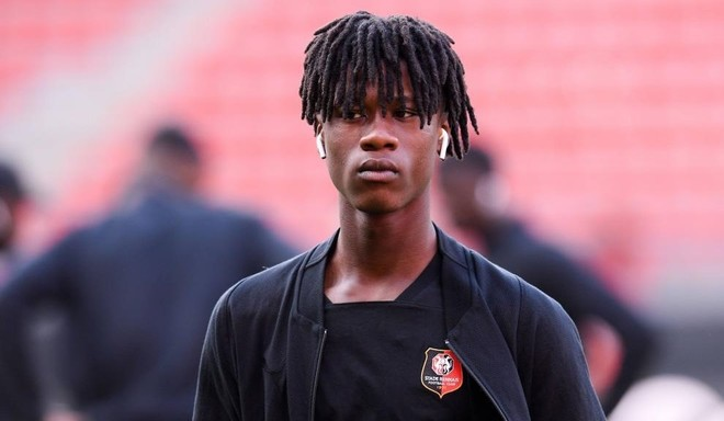 Camavinga (17), jugador del Rennes.