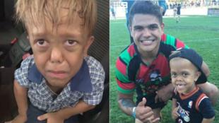 Quaden lideró a los Indigenous All Stars, un equipo de rugby...