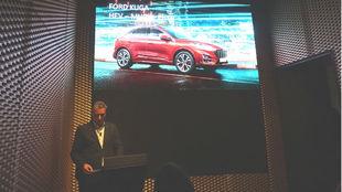 Jesús Alonso, presidente de Ford España, da cuenta de los planes de...