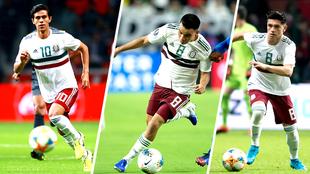 Macías, Rodríguez y González son la base del Tri sub 23.