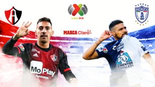 Atlas vs Pachuca, en vivo el partido de la jornada 7.