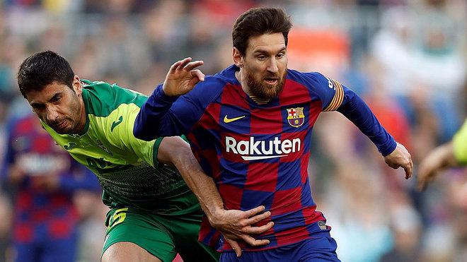 José Ángel quiere parar a Messi en el Eibar-Barcelona.
