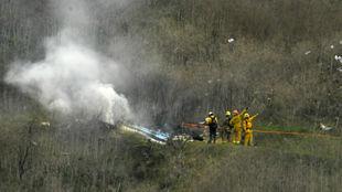 Kobe Bryant y otras ocho personas murieron en un accidente de...