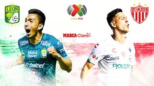 León vs Necaxa en vivo y en directo online; streaming del fútbol...