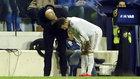 Zidane habla con Hazard después de que el belga fuera sustituido.