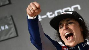 Federica Brignone, líder de la Copa del Mundo. Jamás una italiana ha...