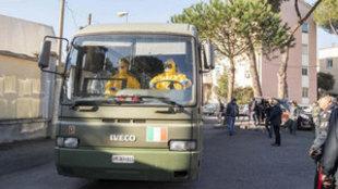 AAlarma en Italia por el coronavirus.