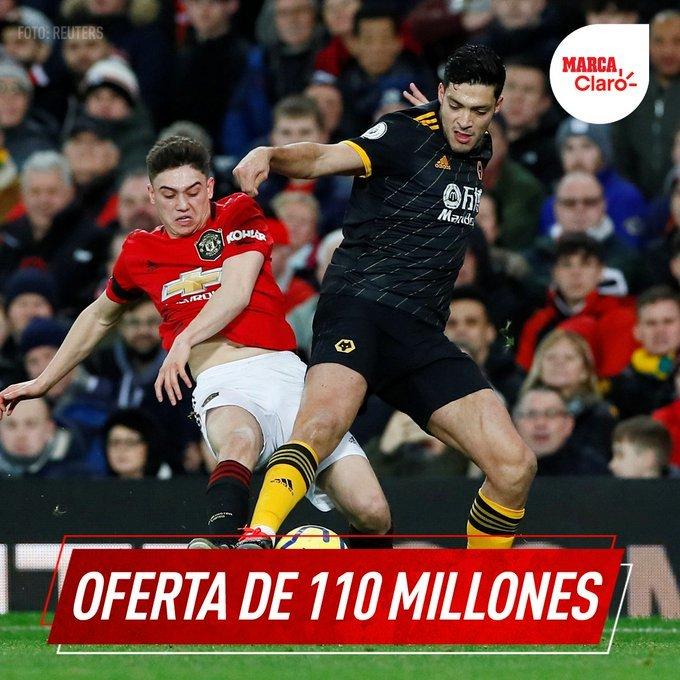 Manchester United ofrecería millonaria cifra por socio de Jiménez