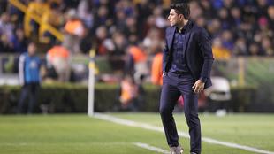 Leandro Cufré ha sido el único técnico cesado en lo que va del...