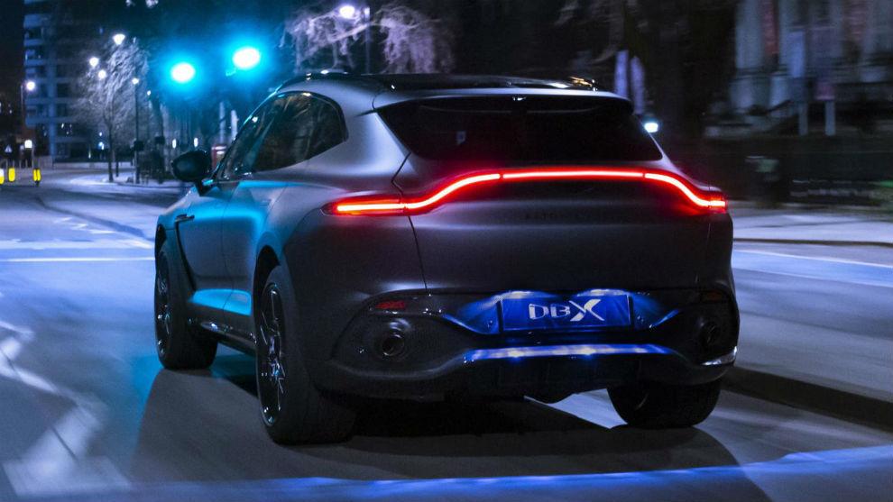 Aston Martin Aston Martin Dbx By Q El Suv Deportivo Etiqueta Negra Que Será Presentado En Ginebra Marca Com