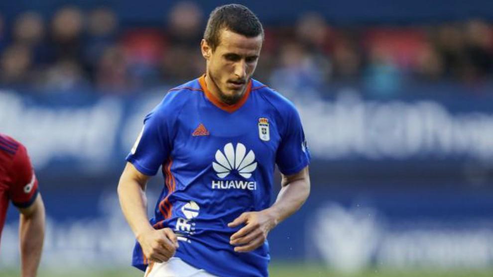 Christian Fernández, durante un partido