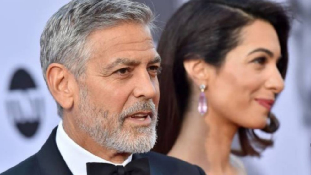 George Clooney, pertenece al grupo estadounidense que está interesado...