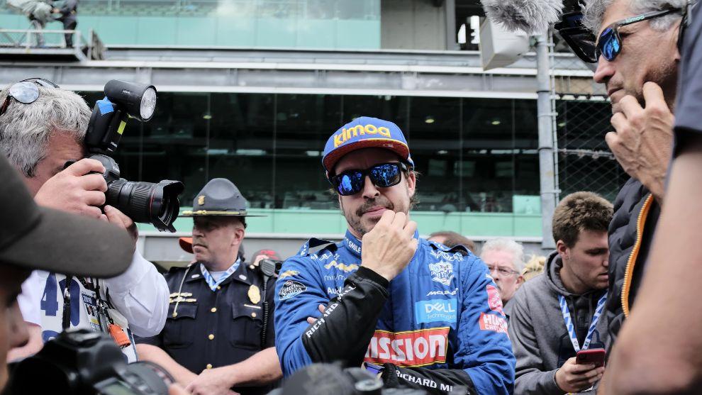 Alonso correrá en Indianápolis con McLaren