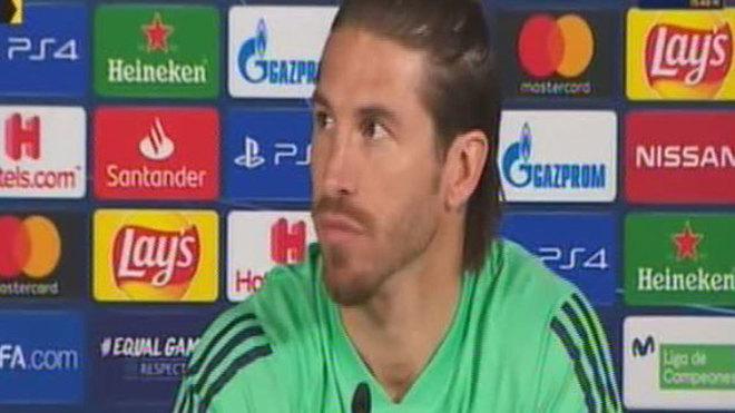 Ramos, durante su comparecencia en rueda de prensa.