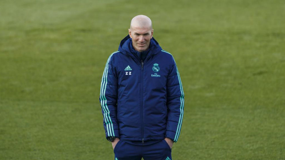 Real Madrid Zidane It S Not Zidane Against Guardiola It S Real Madrid Vs Manchester City Marca In English