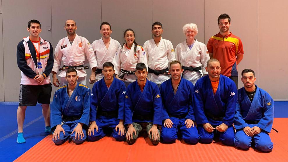 Selección española paralímpica de judo