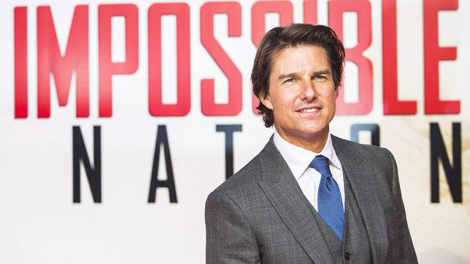 Tom Cruise, protagonista de la saga Misión Imposible.