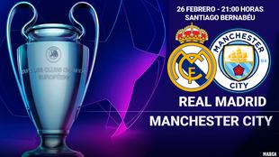 Real Madrid vs Manchester City: horario y dónde ver por televisión...