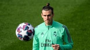 Bale, este martes en Valdebebas