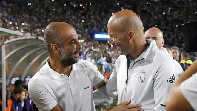 Real Madrid: Real Madrid vs Manchester City: Guardiola contra el ...