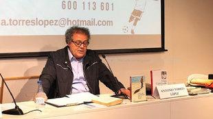 Antonio Torres López, en unas jornadas de formación