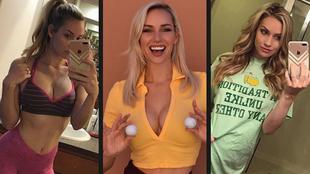 La golfista viral Paige Spiranac