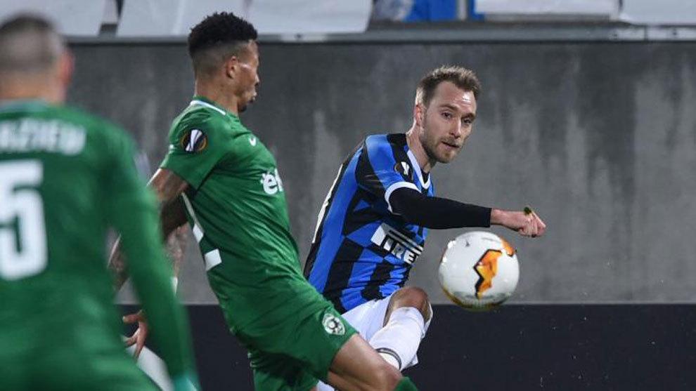 Sin Lautaro Martínez, Inter venció a Ludogorets y pasó de ronda