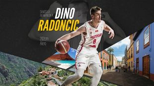 Dino Radoncic, nuevo fichaje de Iberostar Tenerife.