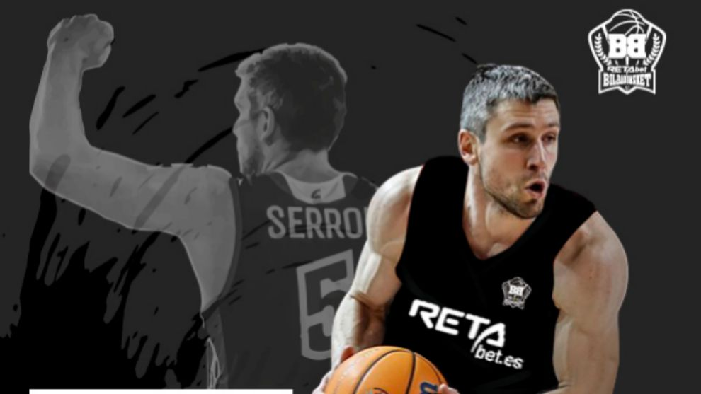 Quentin Serron, nuevo jugador de RETAbet Bilbao Basket.