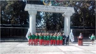 Selección mexicana viaja a Victoria.
