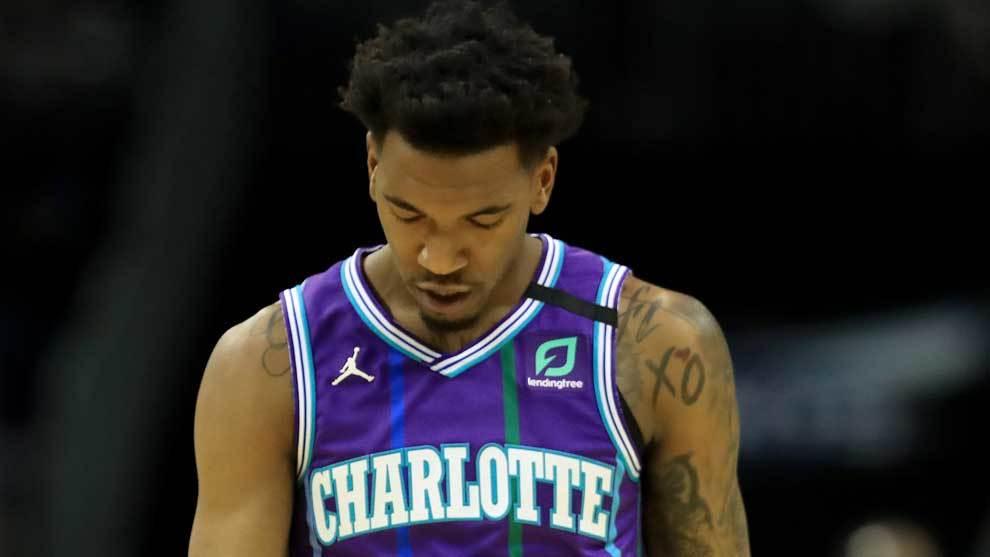 Malik Monk, jugador de los Charlotte Hornets