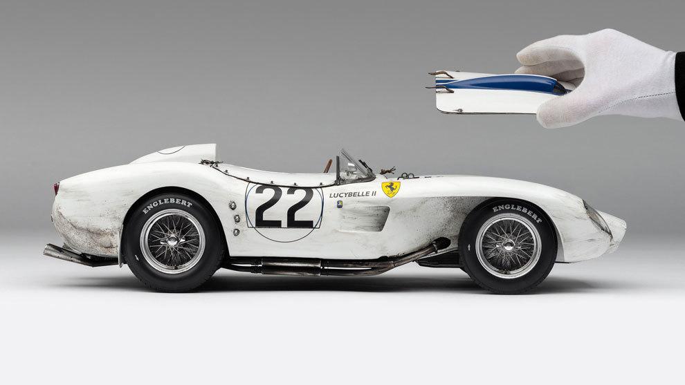 el Ferrari 250 TR de Amalgam ha nacido para estar en una vitrina