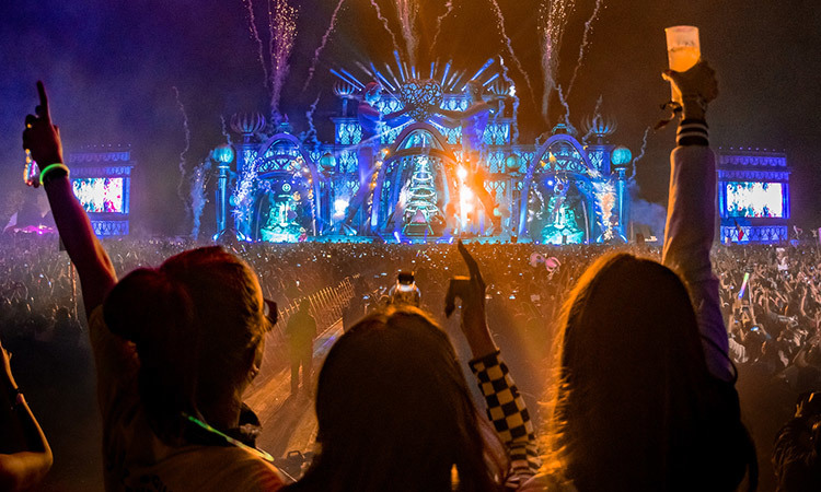 EDC, one of the multiple events which tickets are sold through Ticketmaster