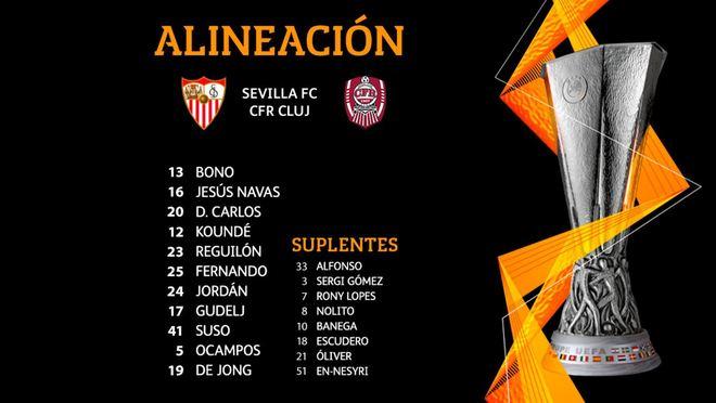Sevilla FC - Cluj, en directo - Europa League | Marca.com