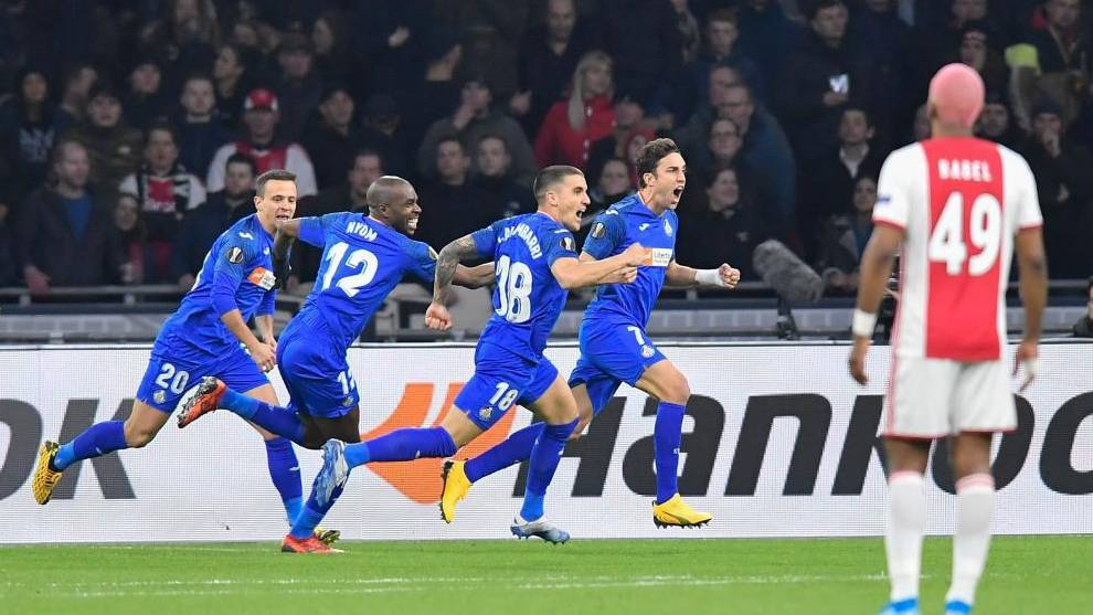 Ajax - Getafe: Mata agranda la leyenda del EuroGeta - Europa League