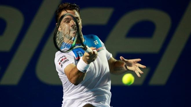 Stanislas Wawrinka cayó en cuartos de final.