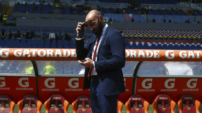 Monchi during his time at Roma.