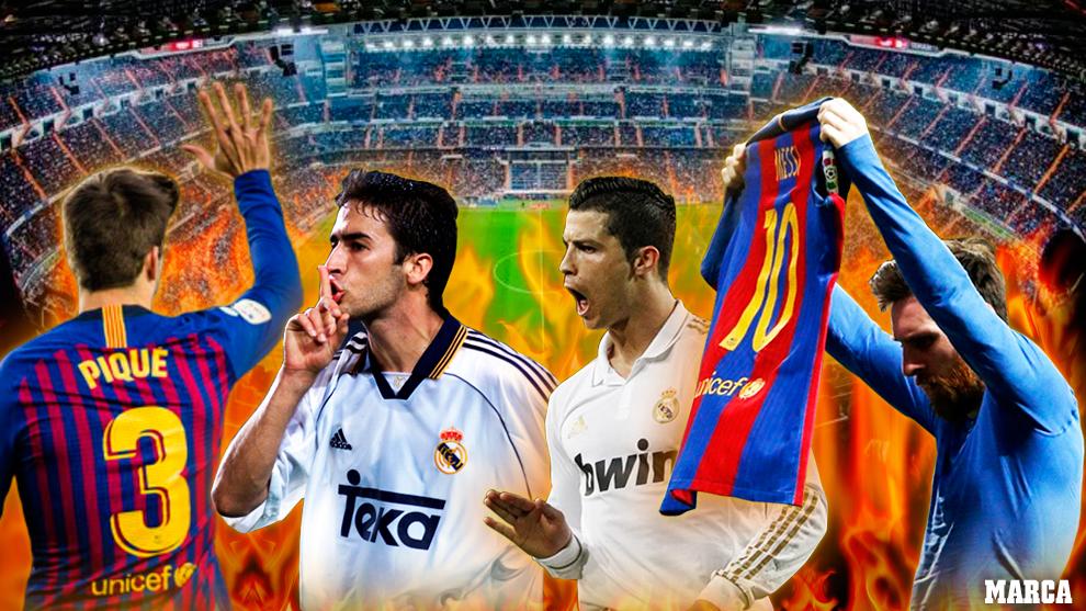 Real Madrid vs Barcelona, el Clasico de la Liga Santander.