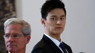 Sun Yang ha sido suspendido por el TAS.