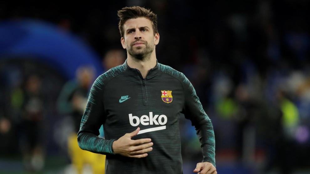 Gerard Piqué está listo para encarar el Clásico con el Barcelona.