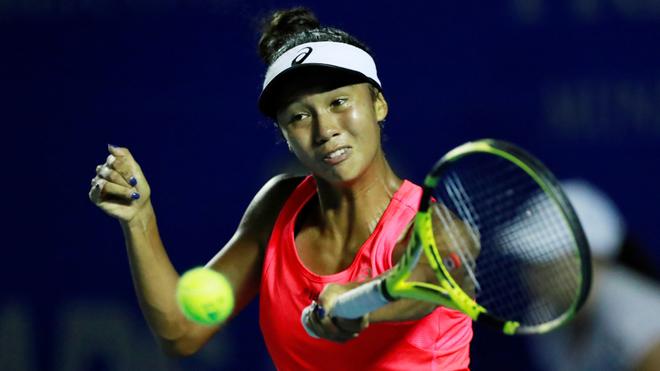 Leylah Fernandez, tenista del equipo Telcel.