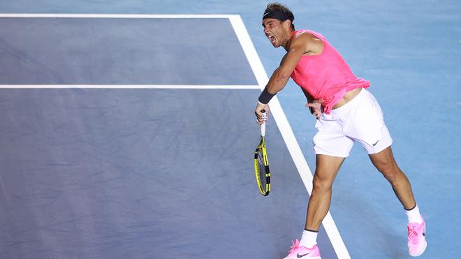 Rafa Nadal se convierte en el tercer máximo ganador del AMT.