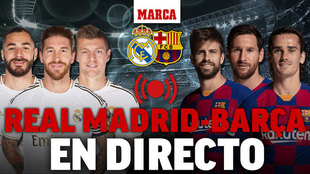 Real Madrid vs Barcelona, última hora del Clasico.