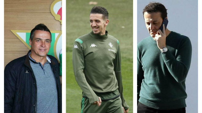 Alexis Trujillo, Zou Feddal y César Sánchez.