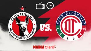 Tijuana vs Toluca: Horario y dónde ver hoy el partido de ida de...